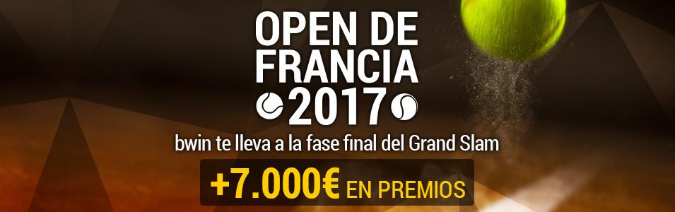 Bwin reto open de francia 2017
