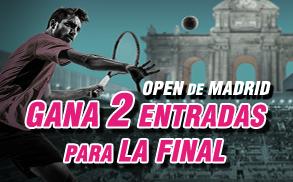 Wanabet open de Madrid 2 entradas