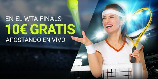 Luckia tenis apuesta gratis WTA finals