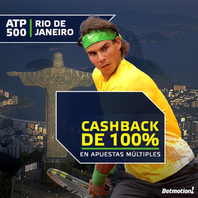 Lunes 16 - ATP 500 Rio de Janeiro