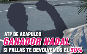 ATP ganador nadal Wanabet