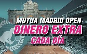 Wanabet Madrid Open Dinero Extra
