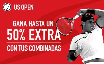 Sportium US open Gana un 50% extra