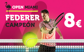 Supercuota Wanabet Open Miami Federer Campeon