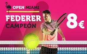 Supercuota Wanabet Open Miami Federer Campeon